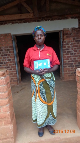 Collina Kuyokwa, participant from St. Matthias training - Malawi
