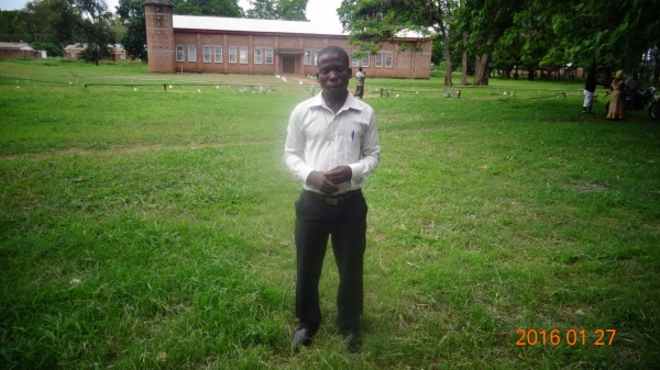 Thomas Mtonga, participant at St. Anne\'s training - Malawi