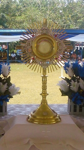 Adoration at the Our Lady of Lourdes grotto in Ghana