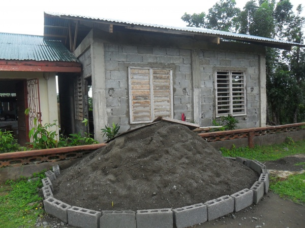 Reconstruction continues at Agtatacay Notre Elementary - Philippines