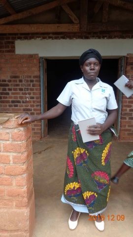 Anne Pwele, participant from St. Matthias training - Malawi