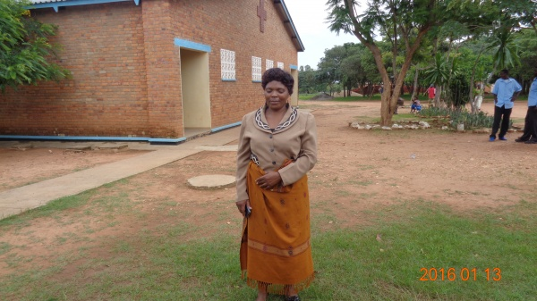 Rhoda Chiwowa, participant from St. Michael\'s training - Malawi