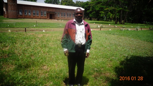 William Ngambi Mulowe, participant at St. Anne\'s training - Malawi