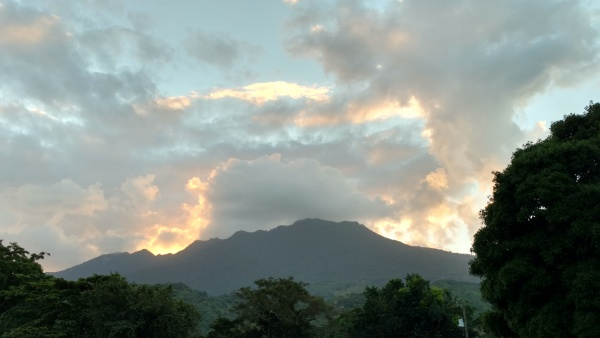 View of the mountains from the orphanage - Honduras