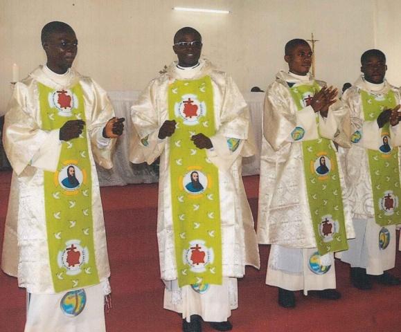 Newly ordained SMA deacons