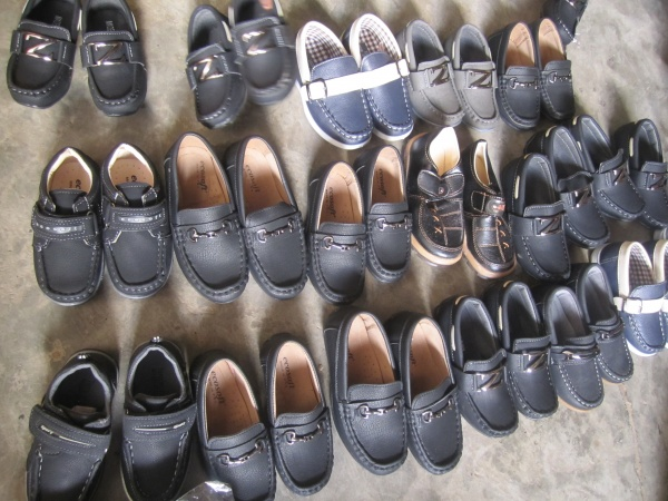 Shoes for the school children - Kenya