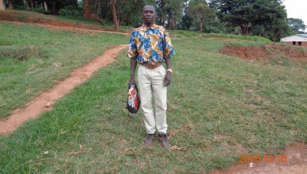 Gabriel Mbughi, participant from St. Matthias training - Malawi
