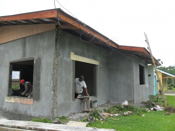 Reconstruction of Lonoy Elementary - Philippines