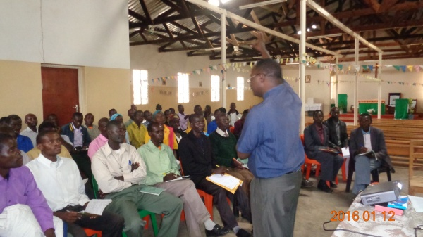 Training session in progress at St. Michael\'s - Malawi