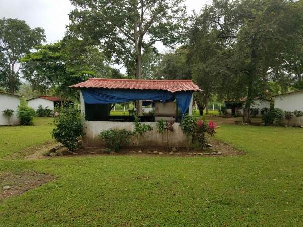 One of the primary school buildings - Farm of the Child - Honduras