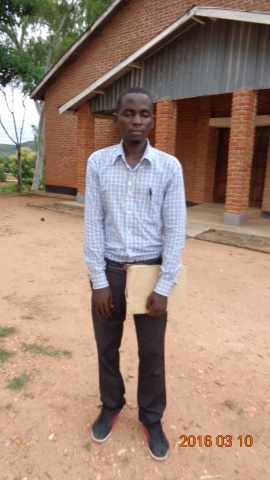 Enock Mwambeye, participant of St. Steven\'s training - Malawi