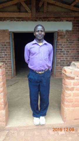 Isaac Kayange, participant from St. Matthias training - Malawi