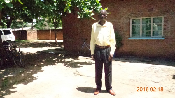 Michael Mwalwanda, participant of St. Mary\'s training - Malawi