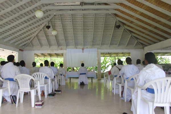 Eucharistic Adoration - Haiti
