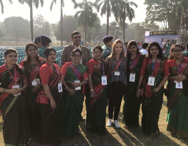 Bangladesh - Right before the papal mass!