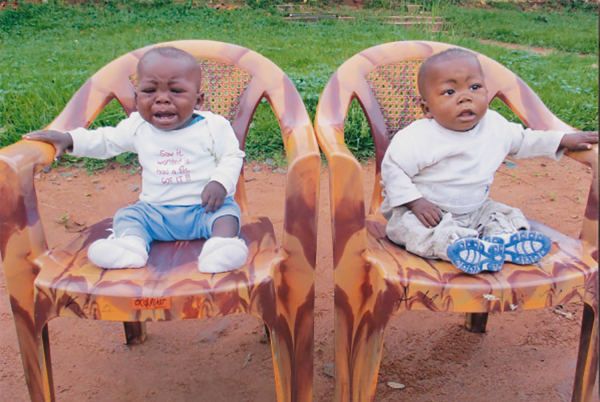 Twins Norbert and Ricardo - Ndekesha Orphans