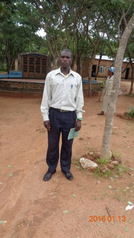 Gerlad Mugala, participant from St. Michael\'s training - Malawi