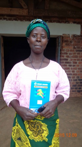 Juliana Masebo, participant from St. Matthias training - Malawi