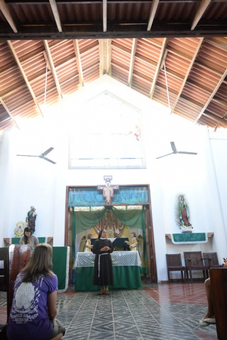 Chapel at Farm of the Child - Honduras