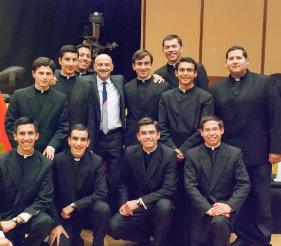 Legionaries of Christ seminarians have many opportunities to learn more