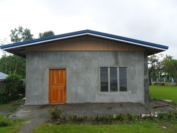 The Home Economics building almost complete! - Philippines