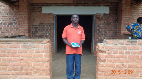 Laurent Msukwa, participant from St. Matthias training - Malawi