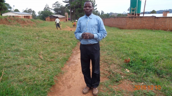 Michael Kayange, participant from St. Matthias training - Malawi
