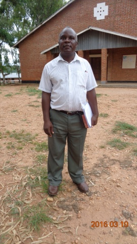 Patrick Soko, participant of St. Steven\'s training - Malawi