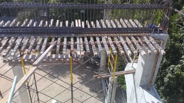 Corpus Christi construction progress - Playa del Carmen, Mexico - Fall 2018