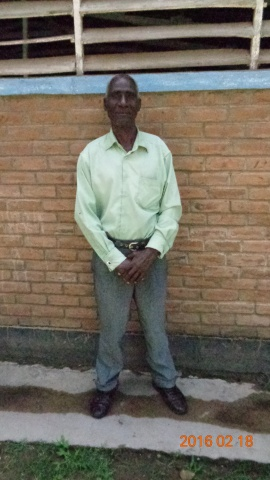Denis Mwamulima, participant from St. Mary\'s training - Malawi