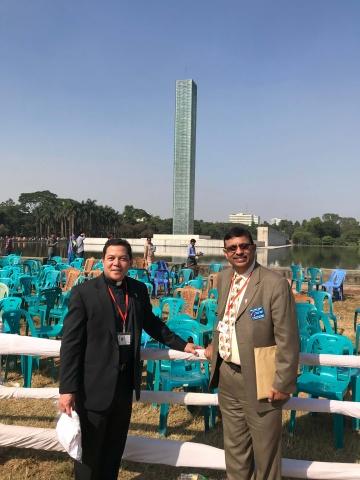 Bangladesh - Deacon Rick Medina and Danny Sequeira