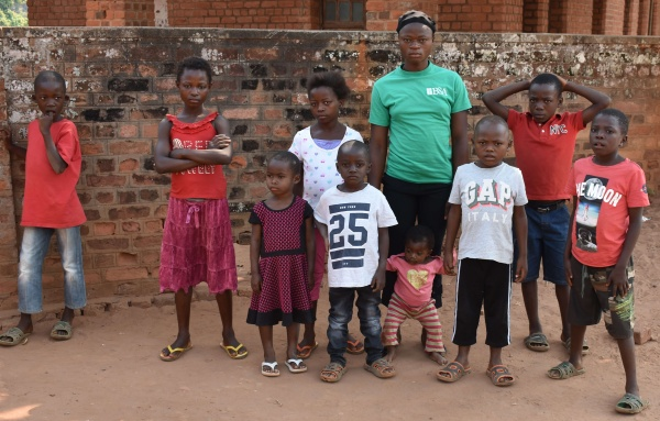 Ndekesha orphans were able to return home in early fall 2018 after being forced to flee because of civil war in 2017