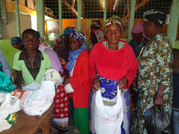 Thankful for the generosity - Kenya