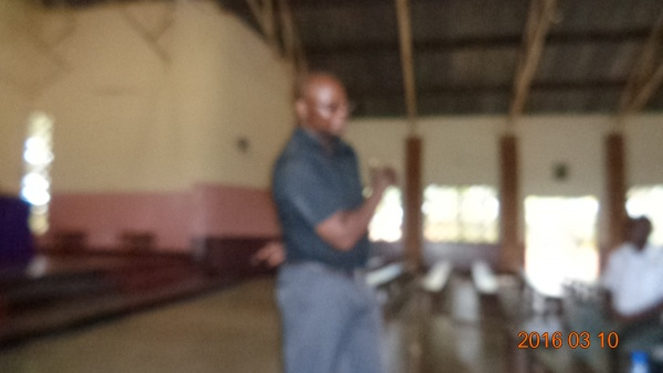 Fr. Joseph Sikwese facilitator on Collaborative Ministry - Malawi