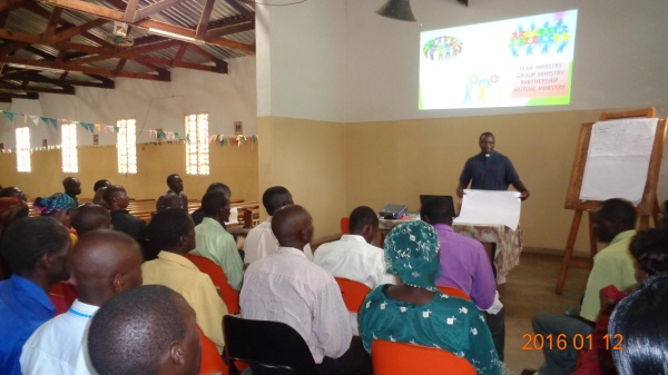 Training Session at St. Michael\'s - Malawi