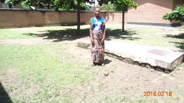 Christina Winga, participant from St. Mary\'s training - Malawi