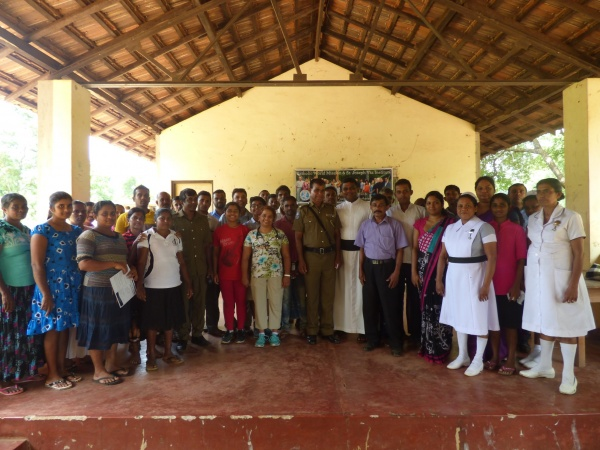Sri Lanka Medical Mission - team effort - Giribawa