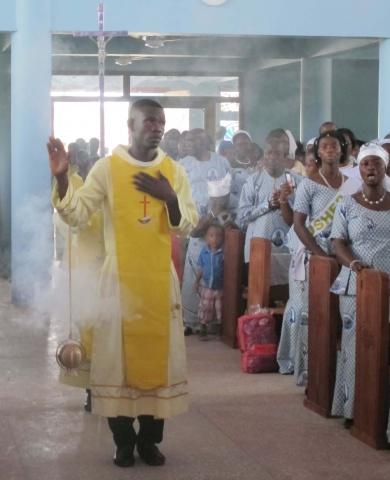 Dedication Mass - Deacon Rick\'s trip - June 2018