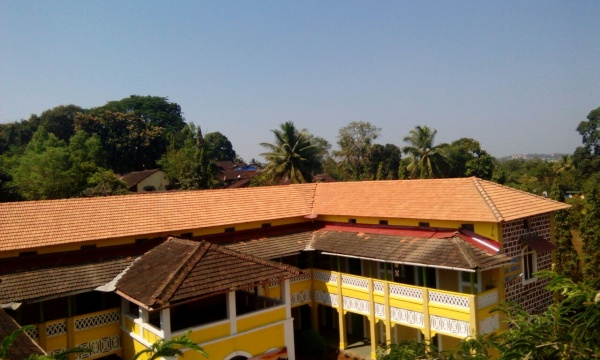 MSFS roof complete! - India