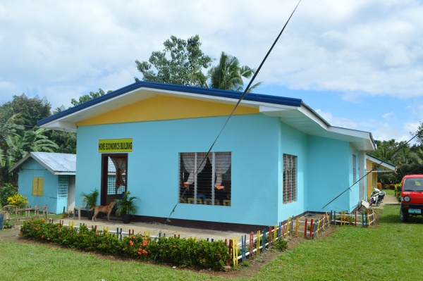 The complete Home Economics building at Lonoy Elementary! - Philippine