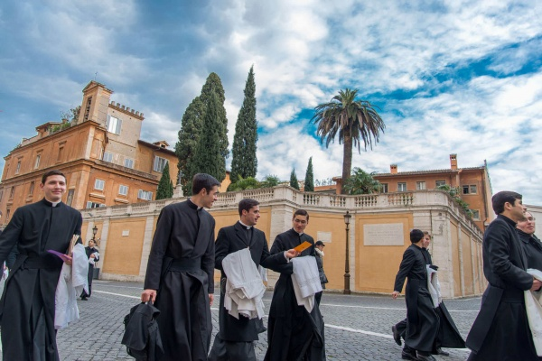 Rome provides a beautiful backdrop for these men to study for the priesthood