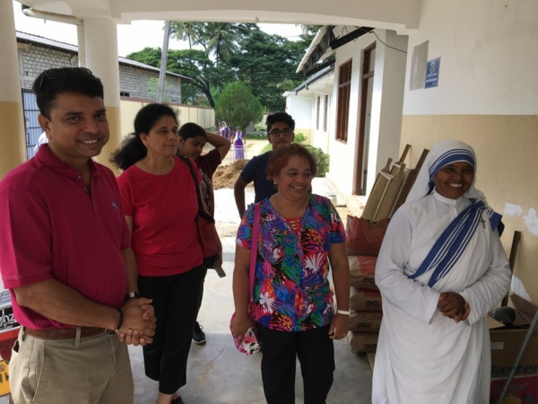 Sri Lanka Medical Mission - visiting the Missionaries of Charity convent