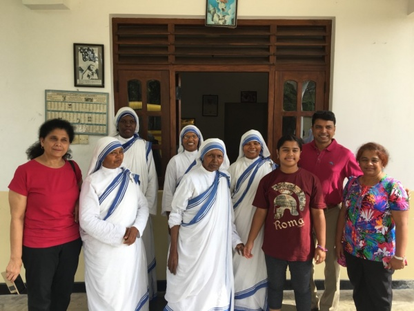 Sri Lanka Medical Mission - visiting the Missionaries of Charity