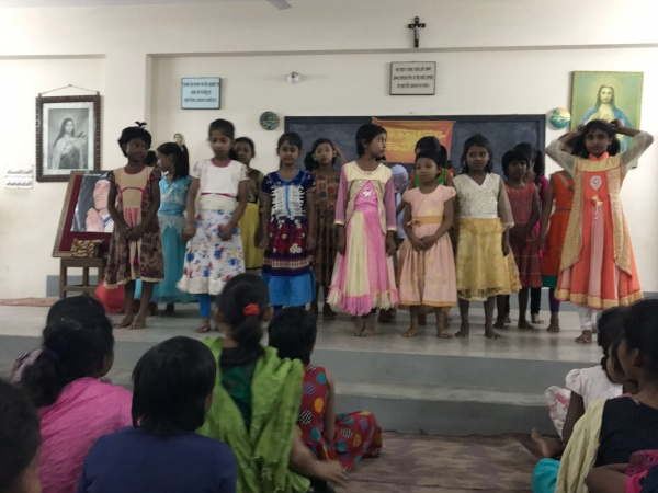 Bangladesh - Special Christmas song and performance by the girls at Bottomley Home