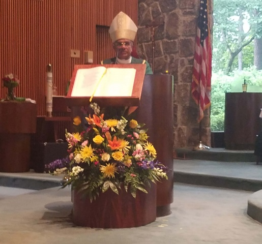 Mass with Bishop Perera - homily