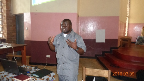 Fr. Joseph Sikwese teaching on the obligations of the laity - Malawi