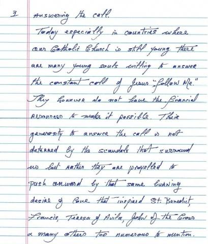 Msgr. Marren\'s letter - page 3