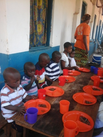 Orphans now get 3 meals a day thanks to your generosity.