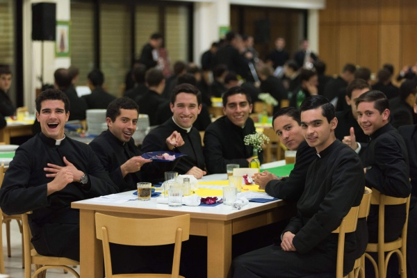 Legionaries of Christ celebrate brotherhood and joy in a life of holiness