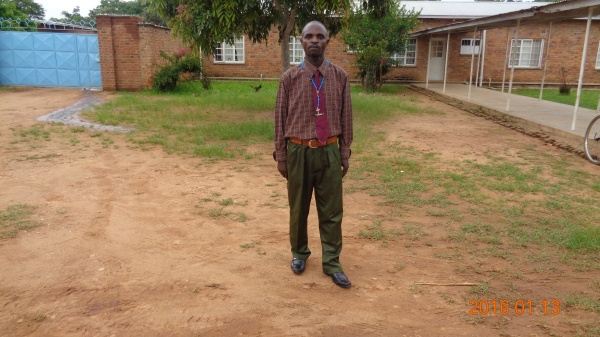 Francis Msukwa, participant from St. Michael\'s training - Malawi